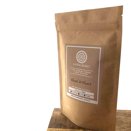 Head and Heart – 100% Drinking Cacao