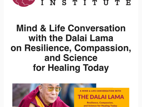 When I first met His Holiness the 14th Dalai Lama...