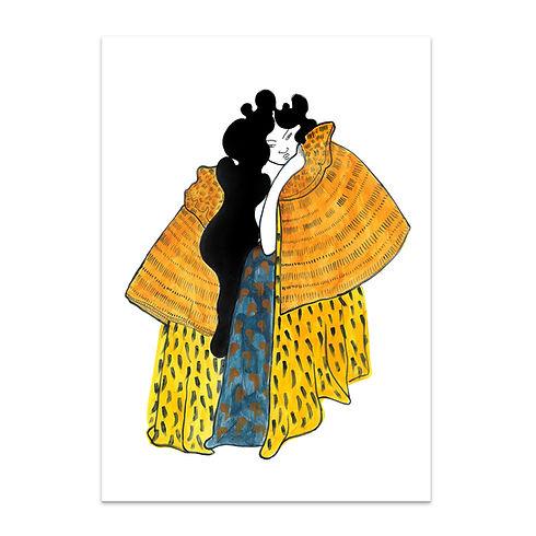 A Pensive Wahine canvas.jpg