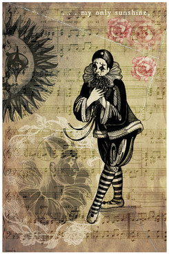 Pierrot print