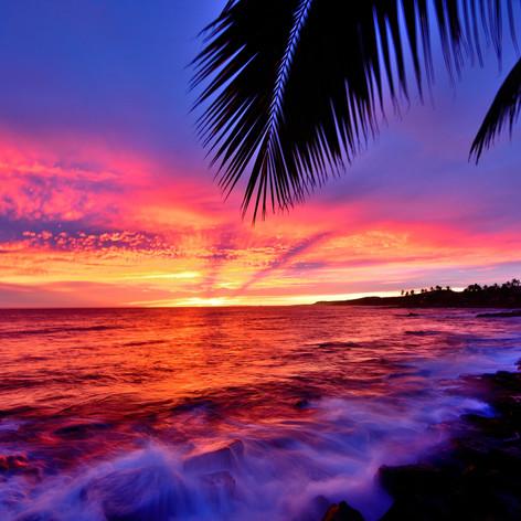 Colors of Sunsets = Kauai