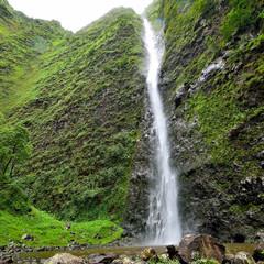 Waterfall surprises