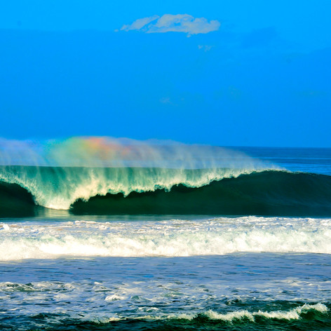 Wave Spray Rainbow