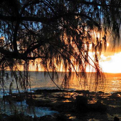 Spouting Horn Sunset