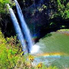 Wailua Falls & Rainbows