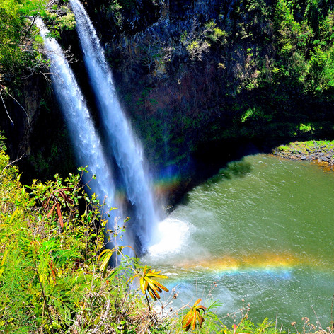 Wailua Falls & Rainbows