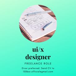 UI/X designer