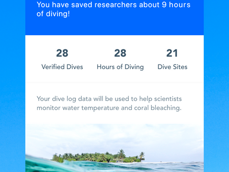 Log Your Dives For Good!
