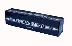 www.westandwalesfireworks.co.uk - Celtic Fireworks Gold Sparklers