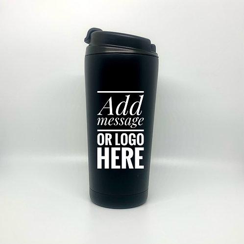 Black Thermal Latte Tumbler