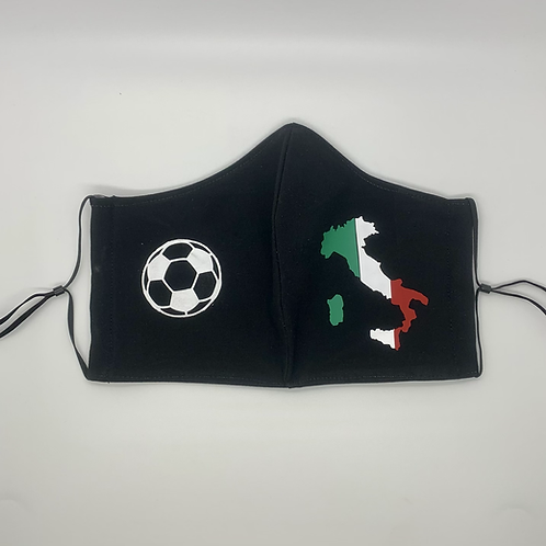 Italian Flag & Soccer Ball