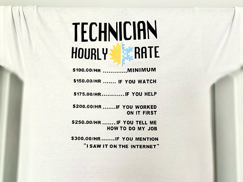 Technician Hourly Rate
