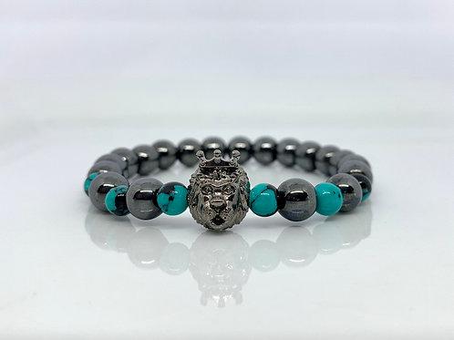 Lion Hematite Bracelet