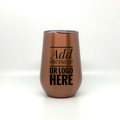 Personalized Thermal Mugs/Stemless Wine Tumblers