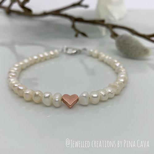 Fresh Water Pearls Bracelet