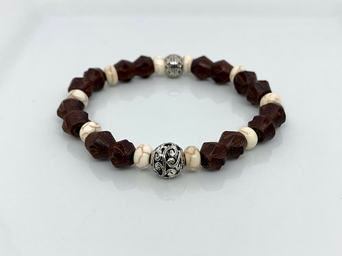 Stained Wood Bracelet
