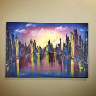 City Scape Abstract
