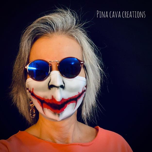 Joker Face Mask
