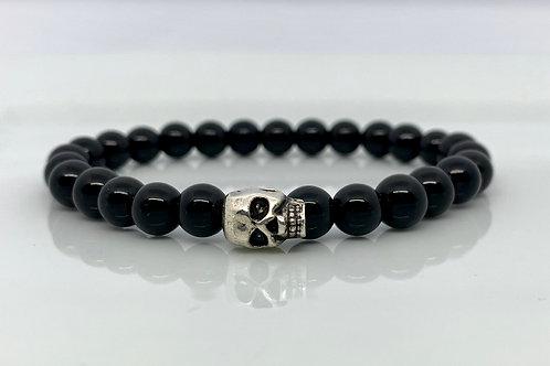 Skull & Jasper Bracelet