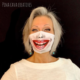 Laughing Face Mask