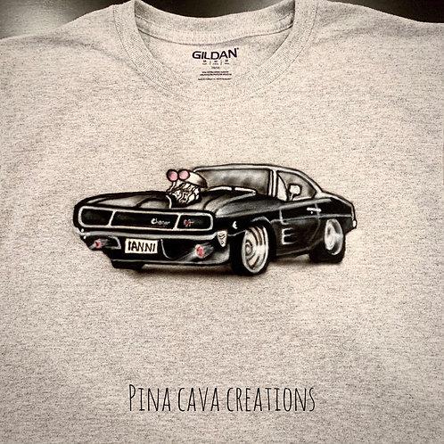 Custom Airbrush T-Shirt