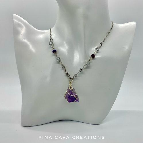 Amethyst Quartz Necklace