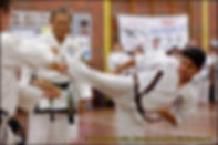 First Takwondo Perth - Master and student