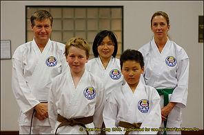 First Taekwondo Perth WA - Nedlands students