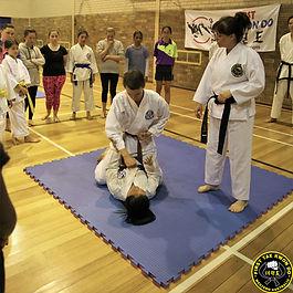 Taekwondo Perth - grappling