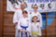 First Taekwondo Perth family