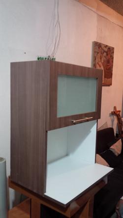 gabinete para micro ondas criltal