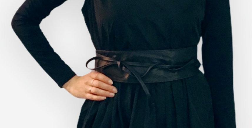 Mercury Leather Wrap Belt