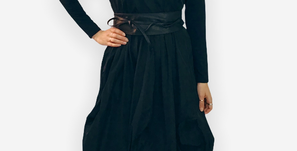 Background Taffeta Midi Dress