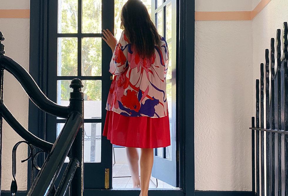 Pupa Milano Floral Silk Shirt