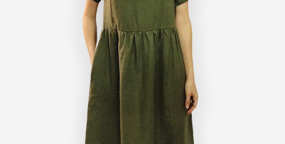 Paquito Linen Midi Dress