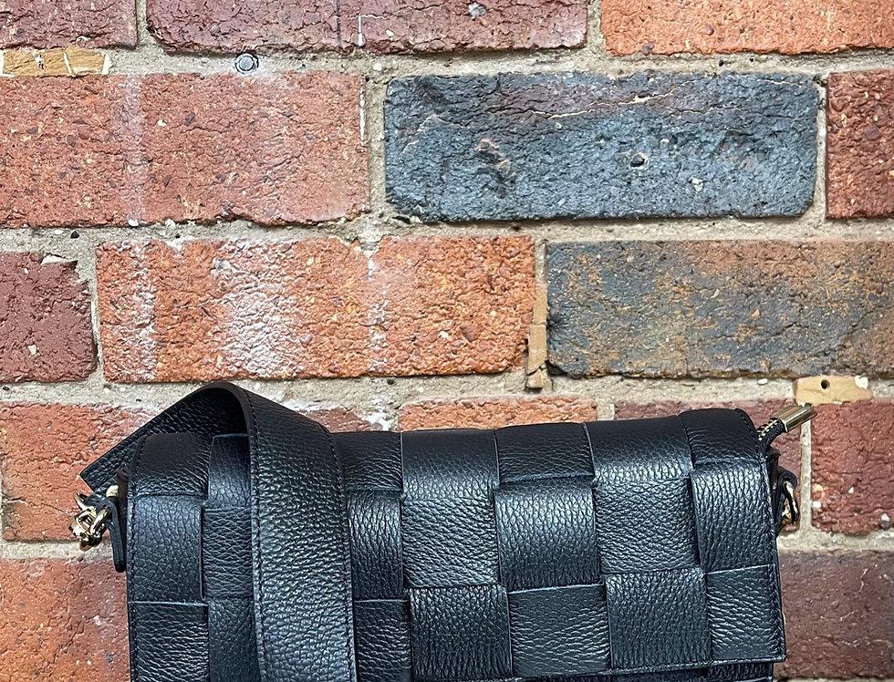Genuine Leather Italian Shoulder Bag