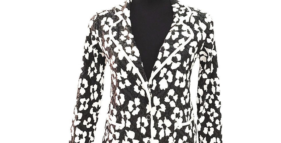 Paquito Floral Fitted Jacket
