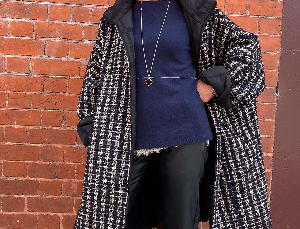 My Day Reversible Coat - Plus Size Collection