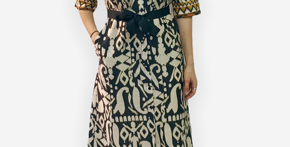 Paquito Long Printed Dress