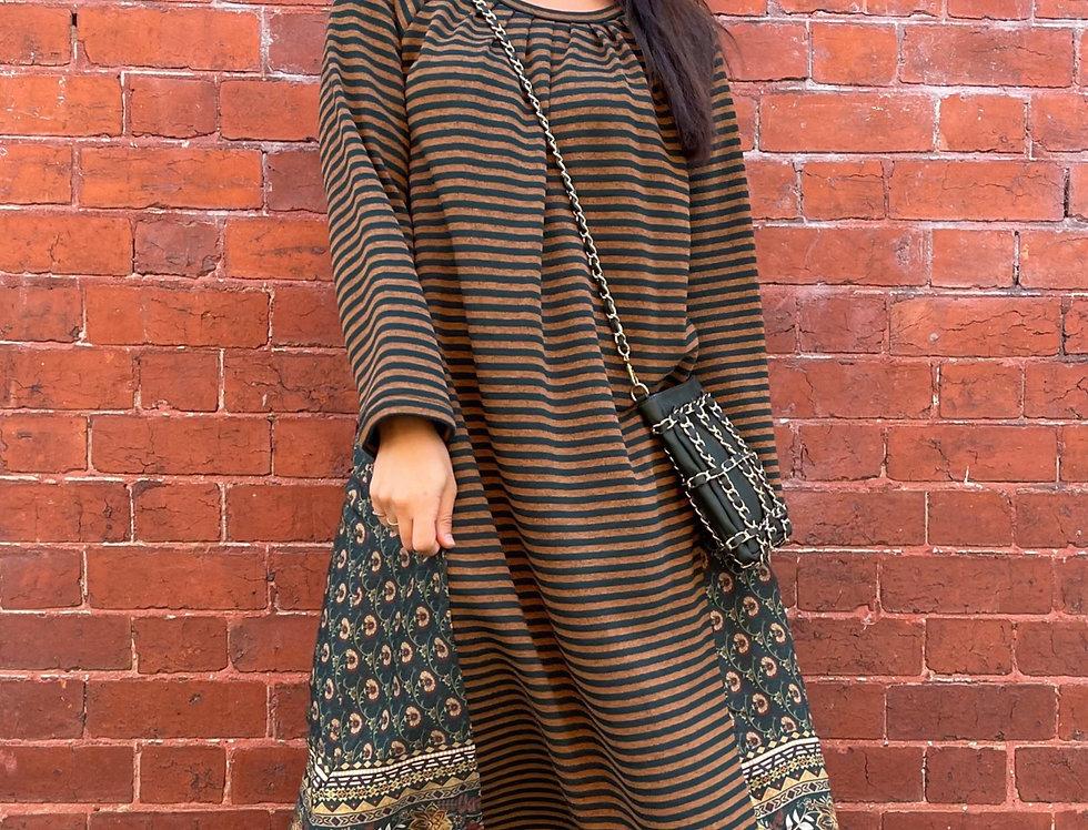 Loose Stripe Dress