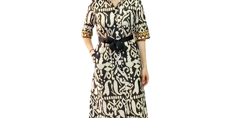 Paquito Long Printed Dress