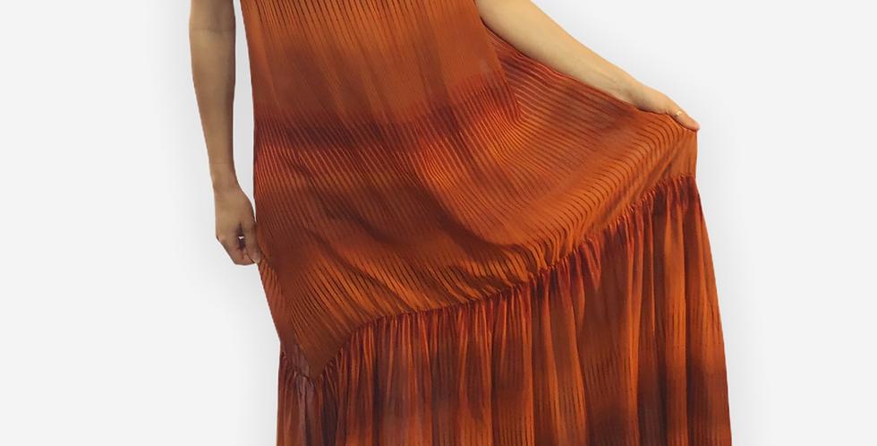 Betty GoodmanLong PanelledBohemian Dress