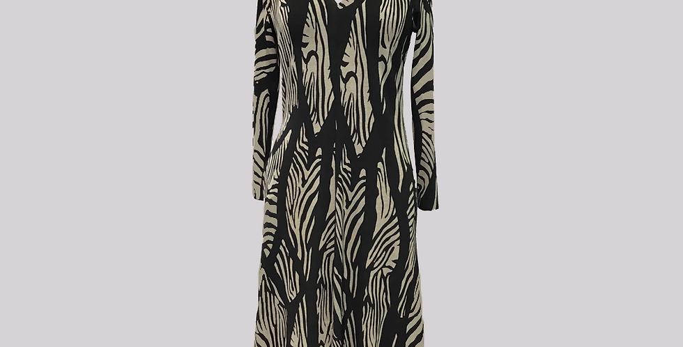 P.A.S.J.S Fitted Midi Dress