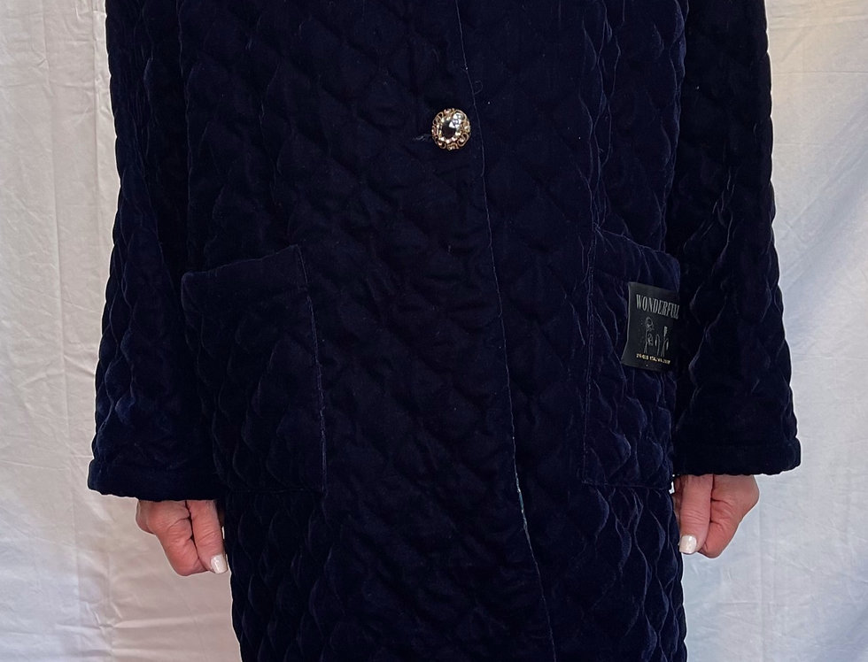 Wu'side Quilted Coat