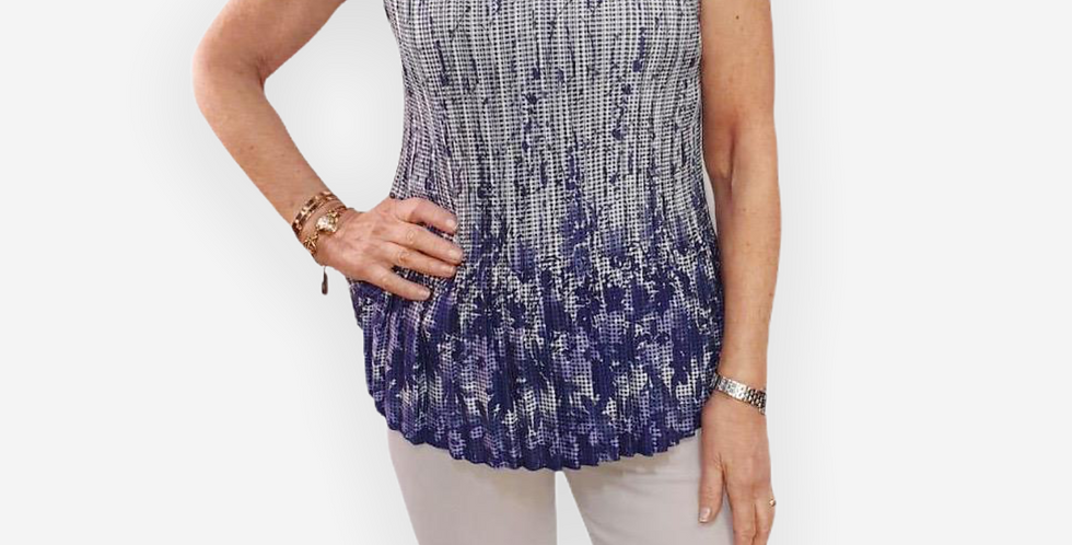 Paquito Pleated Top