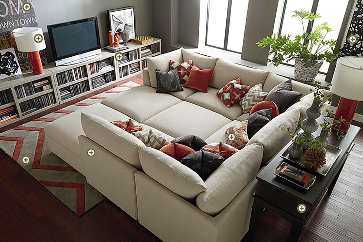 Bassett Sectional or Sofas : basset sectional - Sectionals, Sofas & Couches
