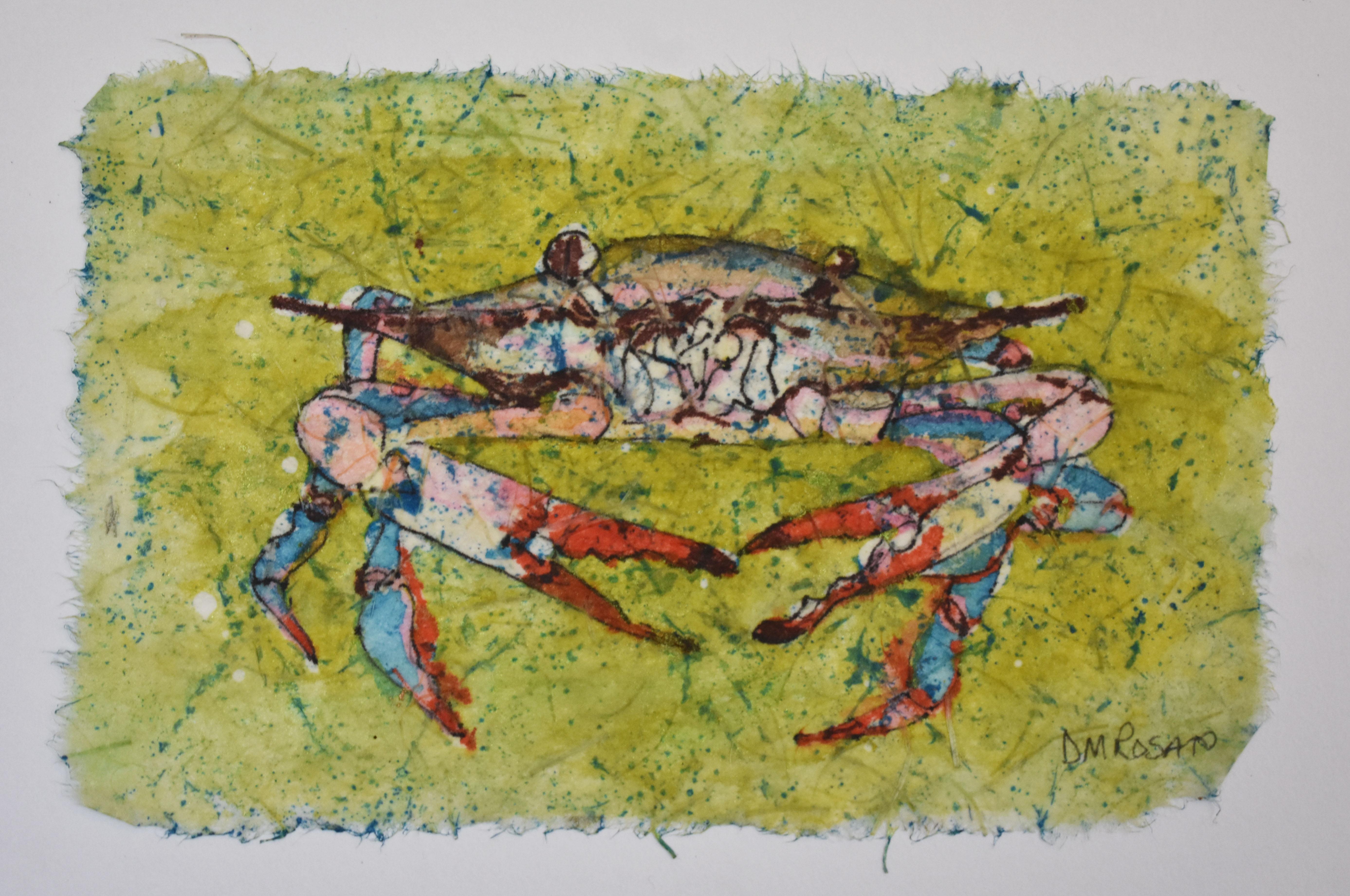 Blue Crab 5x7