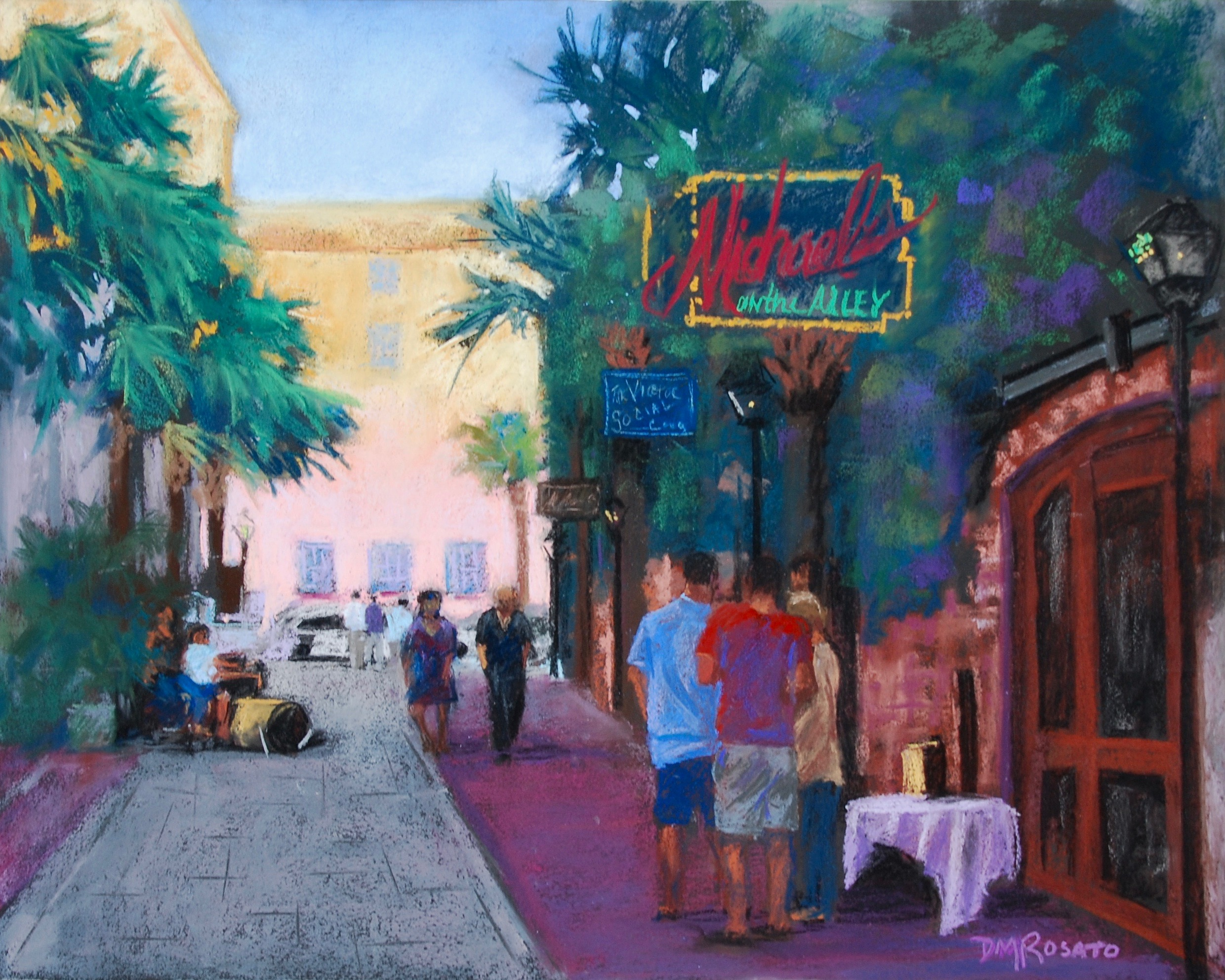 Michael's in the Alley 20x16