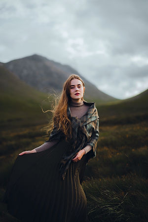 LoullyMakes - Glencoe Photoshoot by Rose