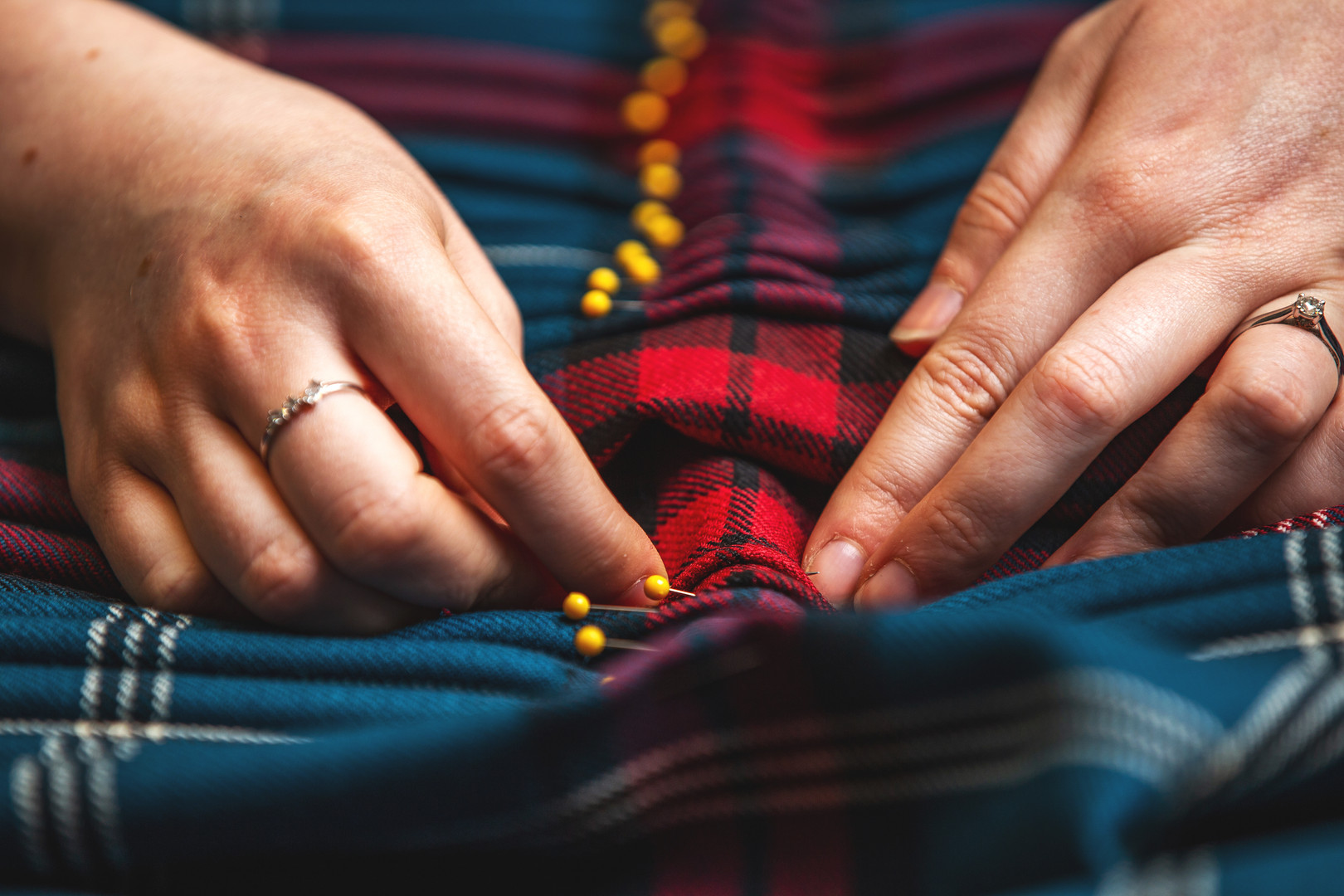 Gordon Nicolson Kiltmakers | Workshop